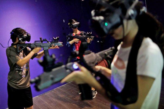 Эта беспроводная технология VR может облегчить игру с другими