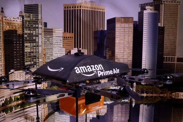Amazon предусматривает доставку дронами, которые саморазрушаются в чрезвычайных ситуациях