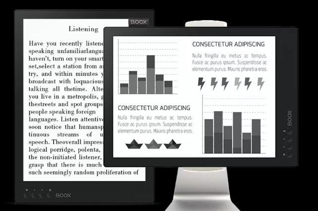 Эта 13,3-дюймовая электронная книга также может быть монитором