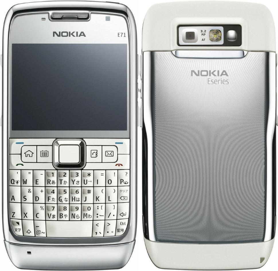 Слух: Nokia возродит легендарную E71