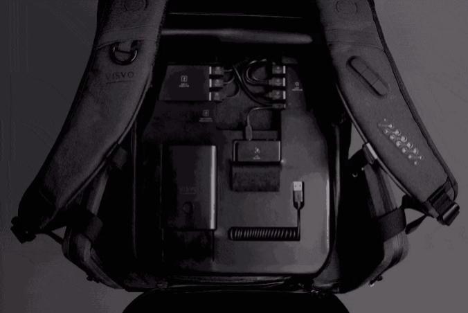 Рюкзак будущего имеет магнитные ремни, чтобы поймать ваши AirPods
