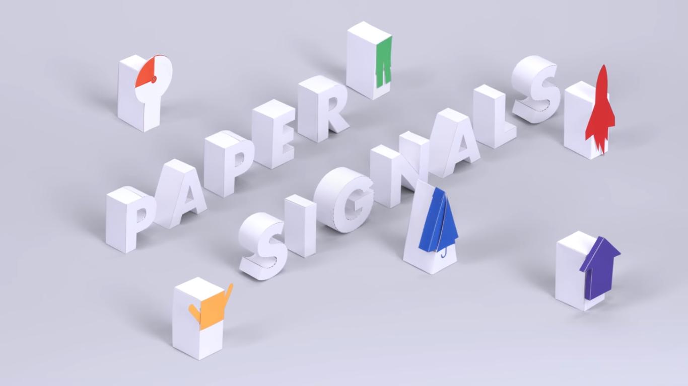 Симпатичный голосовой эксперимент Google позволяет отслеживать мир с помощью бумаги
