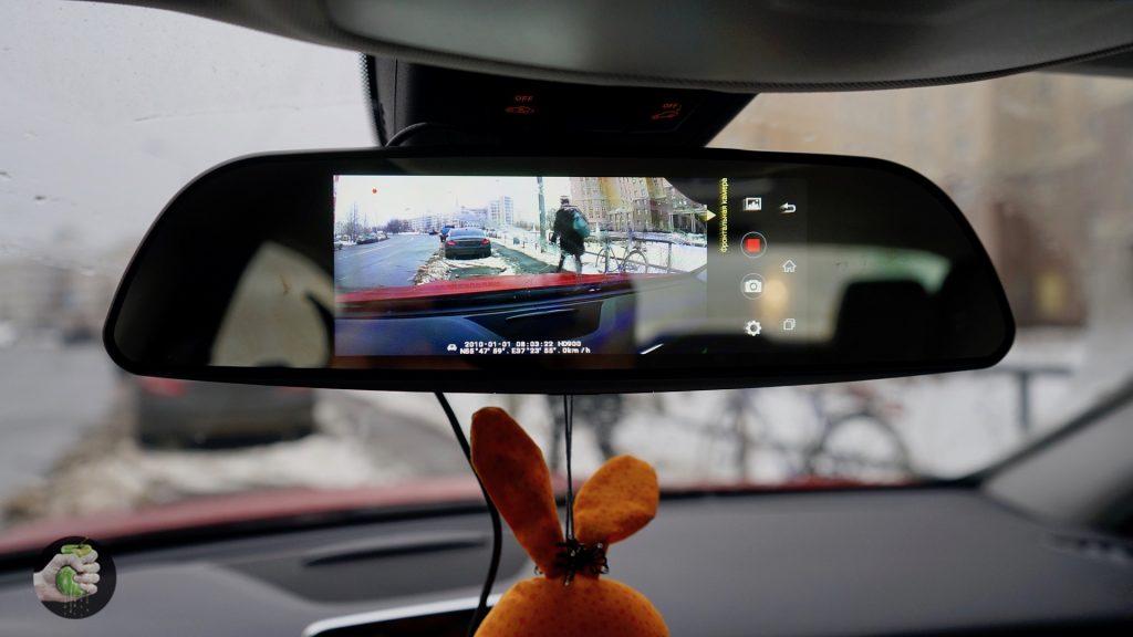 Parkcity DVR HD 900: слишком умное автомобильное зеркало с Android!