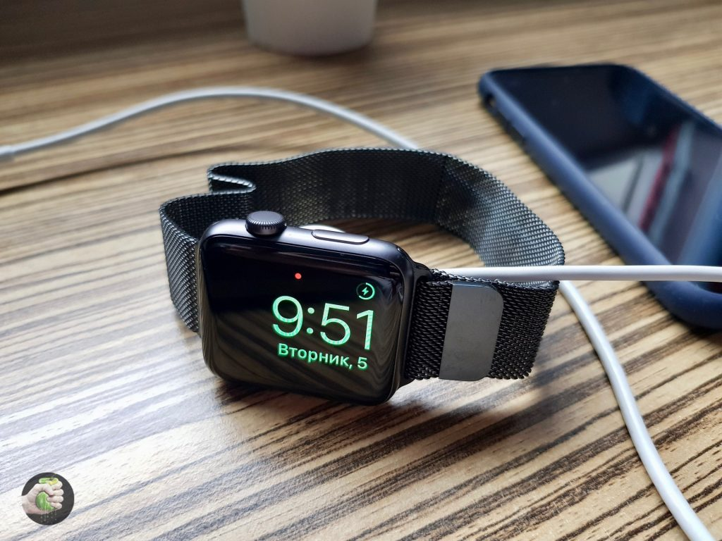 Вещь дня: миланский сетчатый браслет для Apple Watch