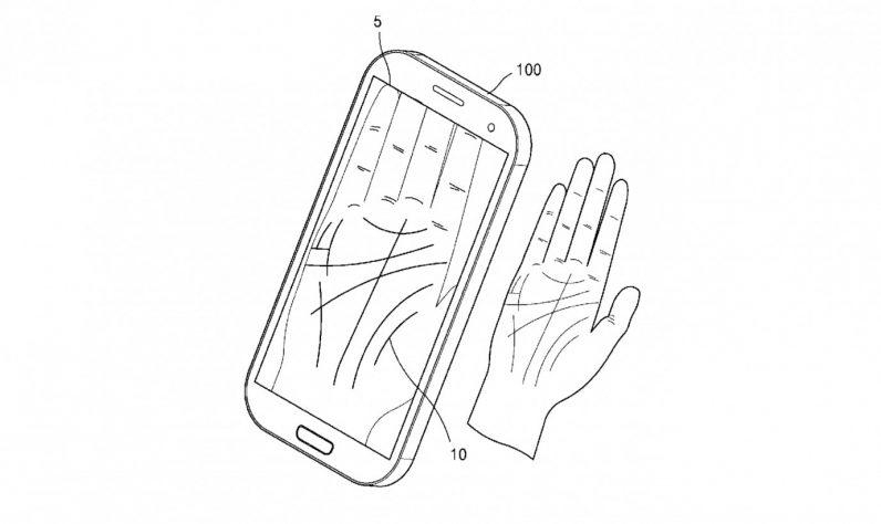 Samsung делает вариант разблокировки смартфона по ладони