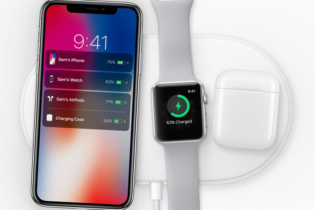 Всё, что известно о беспроводной зарядке Apple AirPower