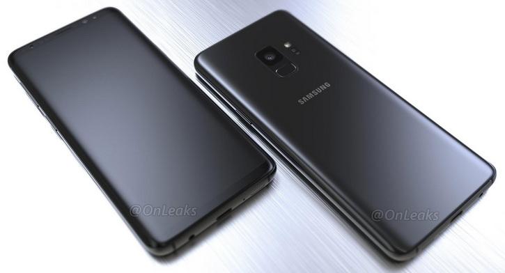 Качественные рендеры Samsung Galaxy S9
