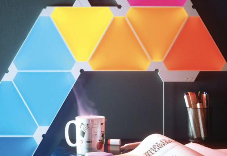 CES 2018: Nanoleaf — крутая модульная светящаяся стена