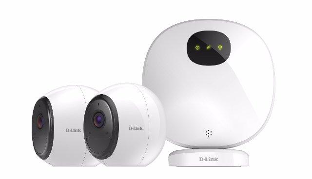 D-Link добавляет камеры с питанием от батареи и LTE к своей домашней линии безопасности
