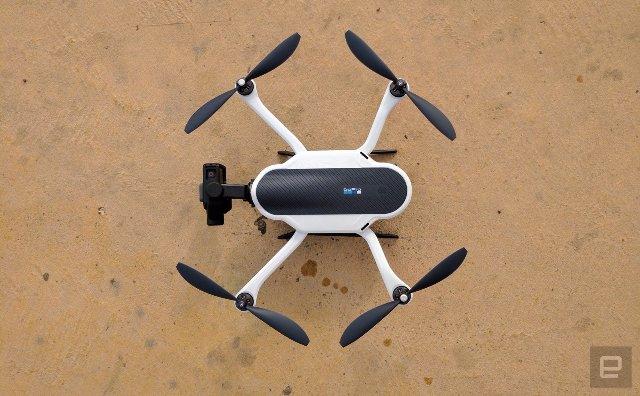 GoPro сокращает почти 300 рабочих мест и прекращает производство беспилотных летательных аппаратов