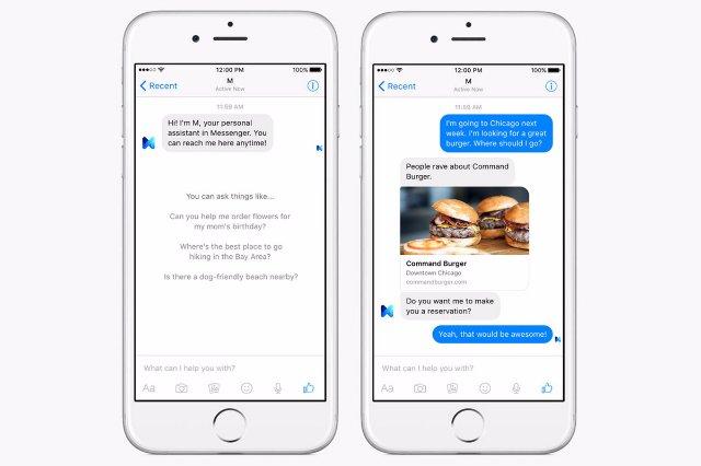 19 января Facebook закрывает своего помощника ИИ «M»
