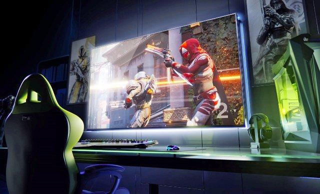 NVIDIA представила 65-дюймовые 4К игровые дисплеи Big Format с G-SYNC