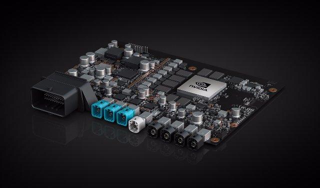 NVIDIA представила свой мощный Xavier SOC для автономных автомобилей