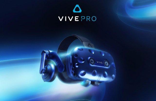 HTC имеет новую высококачественную гарнитуру Vive Pro VR