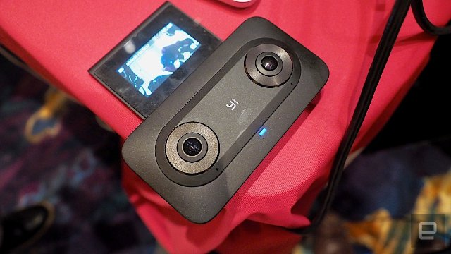 Google представляет видеокамеры VR от Lenovo и Yi