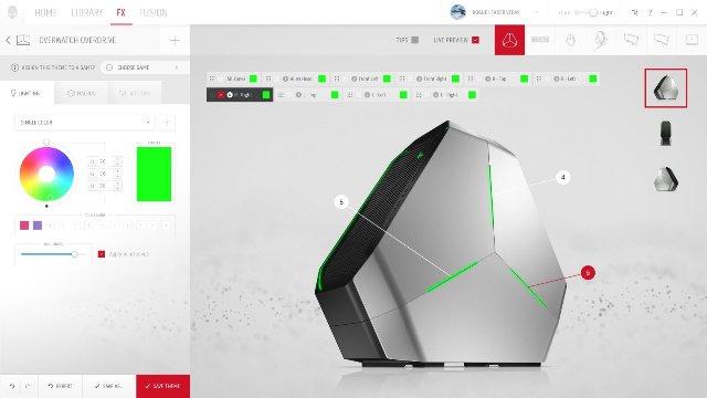 Контрольный хаб Alienware перестраивает закладки в вашей игровой библиотеке