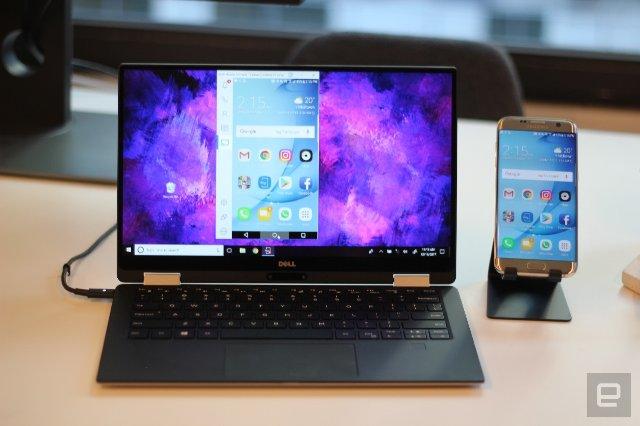 Новое программное обеспечение Mobile Connect от Dell переносит ваш телефон на ваш компьютер