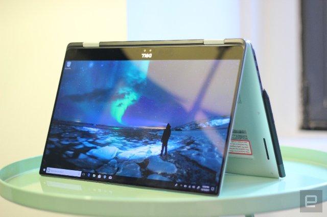 Dell представляет новый гибридный ноутбук XPS 15 2-в-1