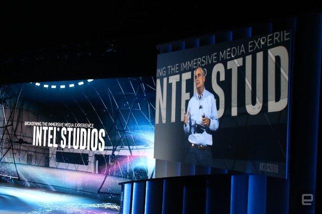 Intel Studios - высокотехнологичная звуковая сцена для захвата видео на 360 градусов
