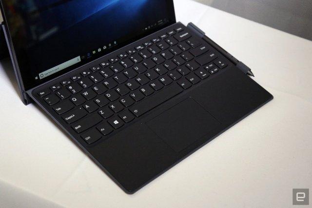Lenovo Miix 630: сплошная клавиатура и мощность Snapdragon