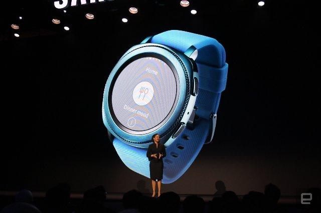 Samsung обеспечит управление SmartThings своим интеллектуальным устройством Gear