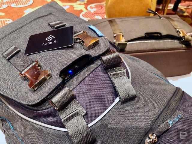 Дорожные сумки CabinR отпугивают воров раздражающим сигналом тревоги