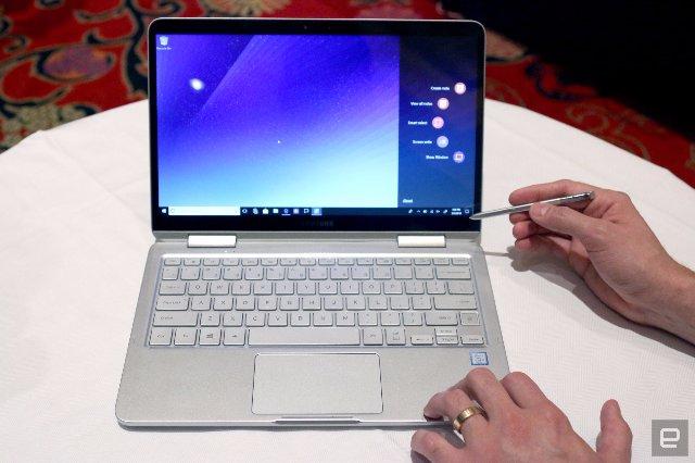 Samsung  Notebook 9 Pen - это смесь Galaxy Note и ноутбуков