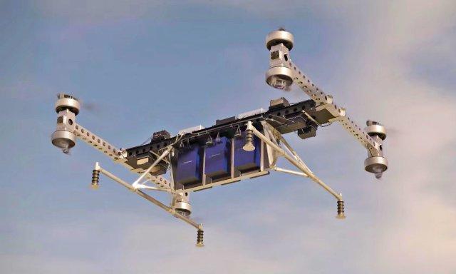 Прототип грузового беспилотного летательного аппарата Boeing может перевозить 250 кг грузы
