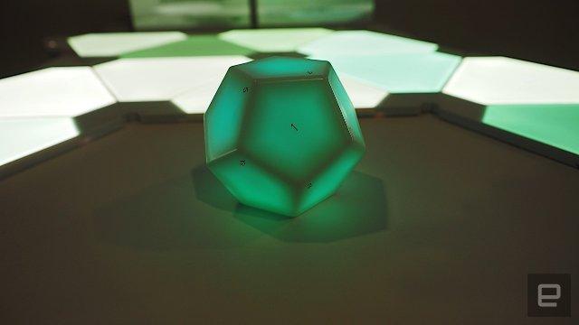 Nanoleaf хочет, чтобы вы контролировали свой умный дом с додекаэдром