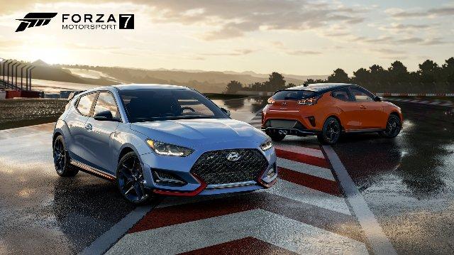 Новый Veloster Hyundai дебютирует в «Forza Motorsport 7»