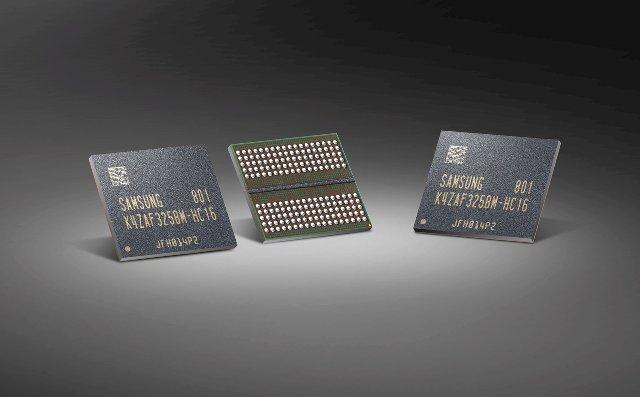 Samsung начинает производство GDDR6 RAM для видеокарт следующего поколения