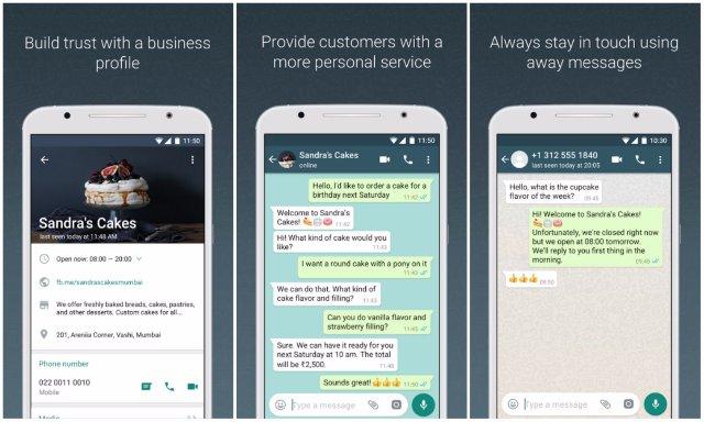 WhatsApp создает приложение для бизнеса