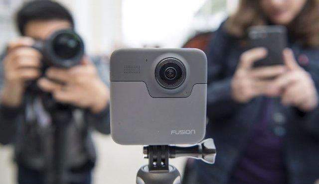 Камера Fusion от GoPro готова работать с несколькими телефонами Android
