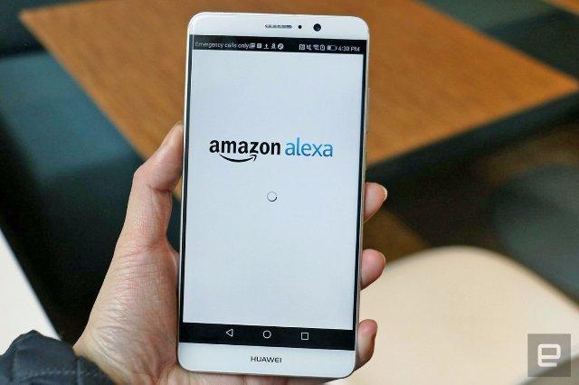 Amazon добавляет голосовое управление в свое приложение Alexa для Android
