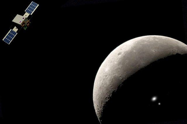 ESA выбирает два крошечных космических корабля для изучения темной стороны Луны