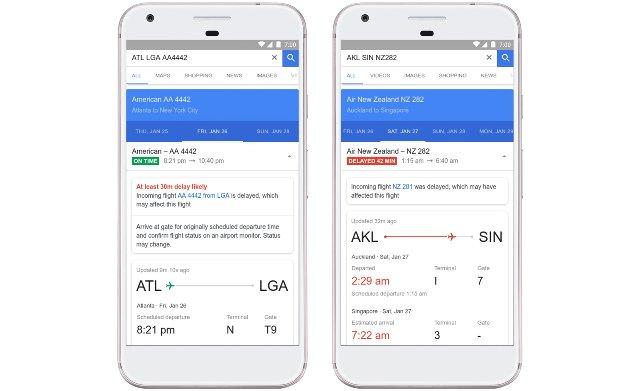 Google использует ИИ для прогнозирования задержек рейсов