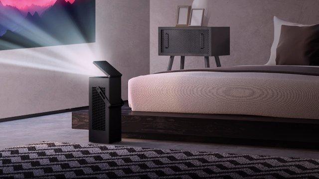 Маленький 4K проектор LG помещает 150-дюймовый экран в любую комнату
