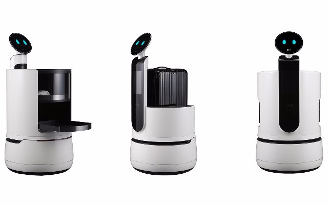 Новые роботы LG CLOi хотят обслуживать отели и супермаркеты