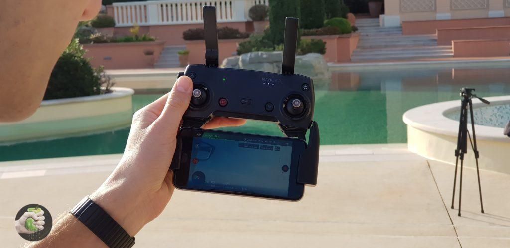 Полетали на новом дроне DJI Mavic Air; получилось хорошо!