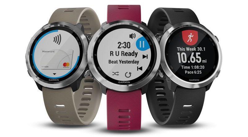 CES 2018: спорт-часы Garmin для бега под музыку