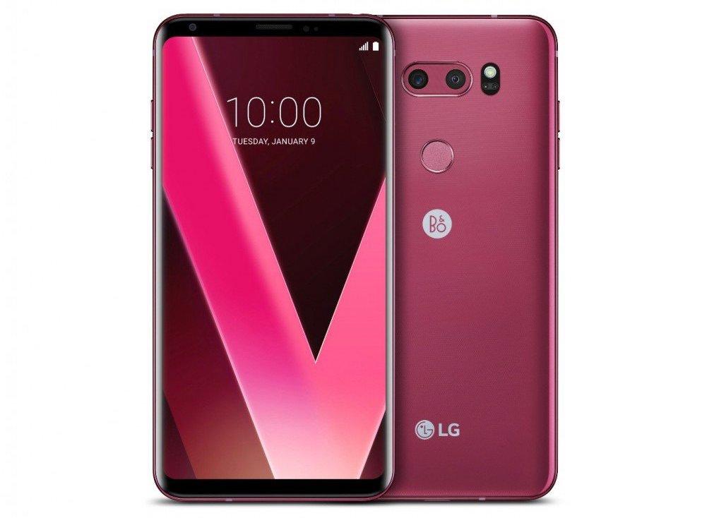 CES 2018: LG V30 в новом цвете