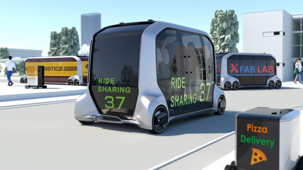 CES 2018: Toyota e-Pallet изменит бизнес на колесах