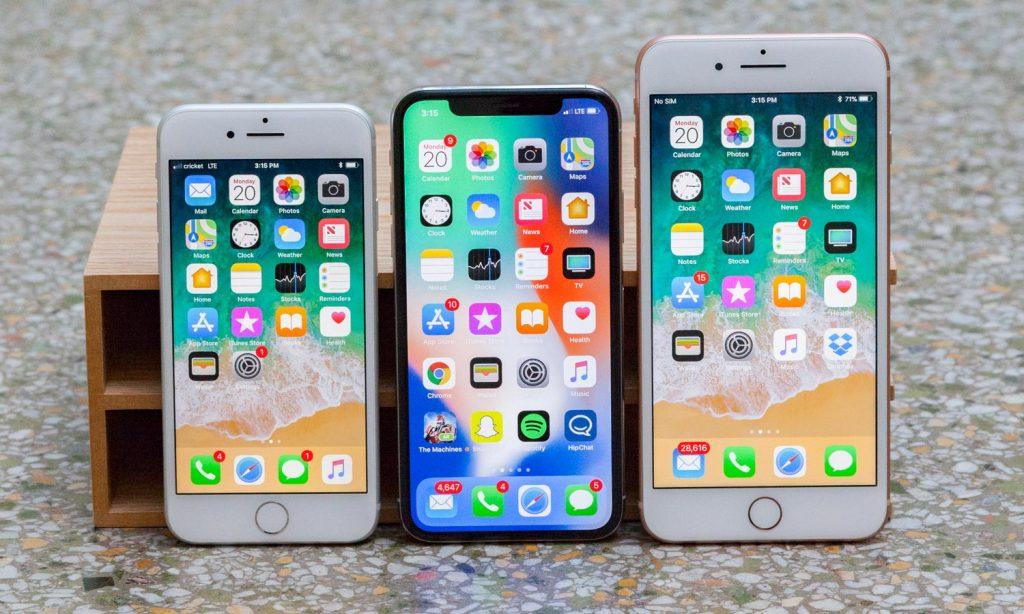 Порция слухов о новых iPhone 2018 года
