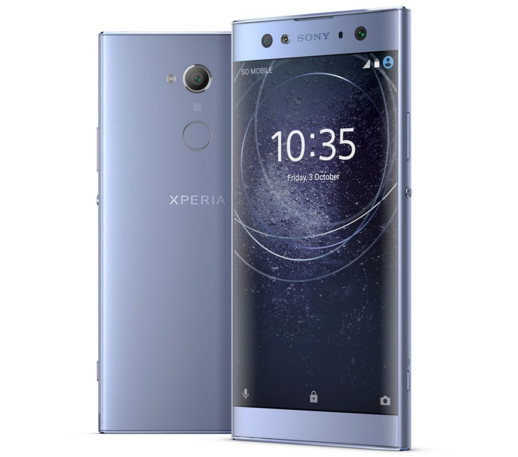 CES 2018: новые смартфоны Sony Xperia XA2, XA Ultra и L2