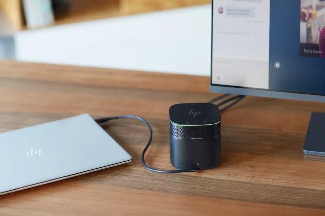 Новая док-станция HP Thunderbolt 3 для USB-C HP имеет модульный динамик Bang & Olufsen