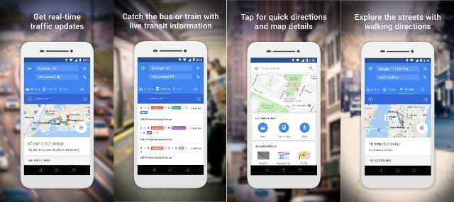 Google открывает бета-версию Google Maps для американских тестировщиков