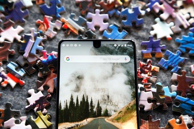 Android P может поддерживать дисплеи с