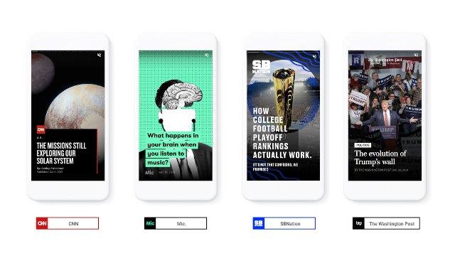 Google планирует выпускать AMP Stories для мобильных результатов поиска