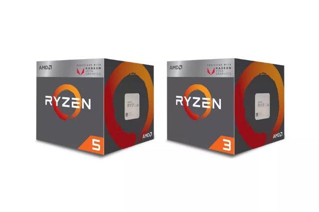 Новые настольные процессоры AMD Ryzen содержат встроенную графику Radeon