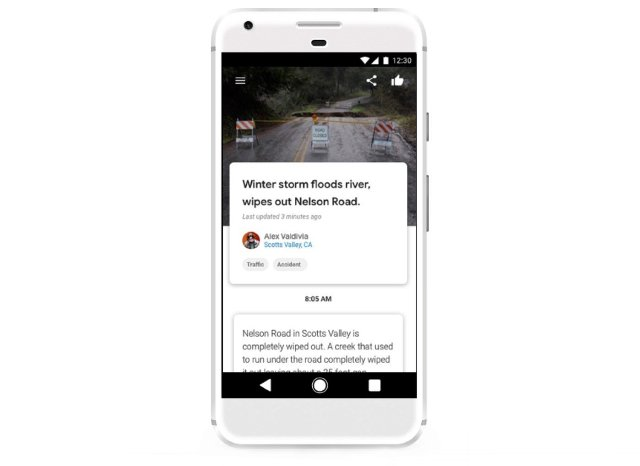 Google тестирует приложение Bulletin для публикации локализованных новостей
